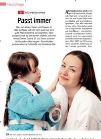 Titelbild der Ausgabe 12/2012 von TesT Allzweckcremes: Passt immer. Zeitschriften als Abo oder epaper bei United Kiosk online kaufen.