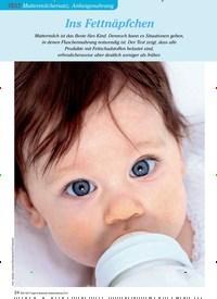 Titelbild der Ausgabe 3/2013 von TEST Muttermilchersatz, Anfangsnahrung: Ins Fettnäpfchen. Zeitschriften als Abo oder epaper bei United Kiosk online kaufen.