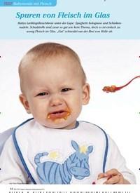 Titelbild der Ausgabe 3/2013 von TEST Babymenüs mit Fleisch: Spuren von Fleisch im Glas. Zeitschriften als Abo oder epaper bei United Kiosk online kaufen.