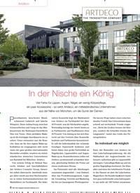 Titelbild der Ausgabe 91/2013 von Artdeco: In der Nische ein König. Zeitschriften als Abo oder epaper bei United Kiosk online kaufen.