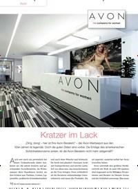 Titelbild der Ausgabe 91/2013 von Avon: Kratzer im Lack. Zeitschriften als Abo oder epaper bei United Kiosk online kaufen.