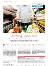 Titelbild der Ausgabe 91/2013 von Beromin-Chemie: Achtung, vertraulich!. Zeitschriften als Abo oder epaper bei United Kiosk online kaufen.