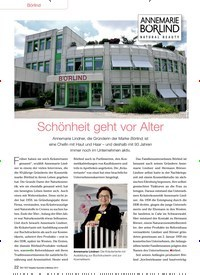 Titelbild der Ausgabe 91/2013 von Börlind: Schönheit geht vor Alter. Zeitschriften als Abo oder epaper bei United Kiosk online kaufen.