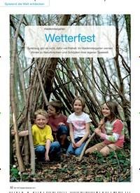 Titelbild der Ausgabe 9/2015 von Waldkindergarten: Wetterfest. Zeitschriften als Abo oder epaper bei United Kiosk online kaufen.
