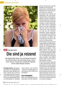 Titelbild der Ausgabe 11/2009 von TEST Allergiemittel: Die sind ja reizend. Zeitschriften als Abo oder epaper bei United Kiosk online kaufen.