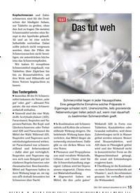 Titelbild der Ausgabe 11/2009 von TEST Schmerzmittel: Das tut weh. Zeitschriften als Abo oder epaper bei United Kiosk online kaufen.