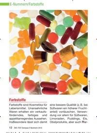 Titelbild der Ausgabe 8/2010 von Farbstoffe. Zeitschriften als Abo oder epaper bei United Kiosk online kaufen.