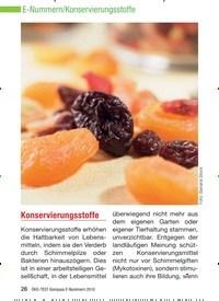 Titelbild der Ausgabe 8/2010 von Konservierungsstoffe. Zeitschriften als Abo oder epaper bei United Kiosk online kaufen.