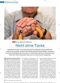 Titelbild der Ausgabe 11/2010 von Nicht ohne Tücke. Zeitschriften als Abo oder epaper bei United Kiosk online kaufen.