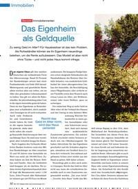 Titelbild der Ausgabe 90/2011 von Übersicht Immobilienrenten: Das Eigenheim als Geldquelle. Zeitschriften als Abo oder epaper bei United Kiosk online kaufen.