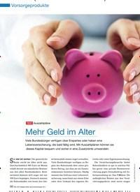 Titelbild der Ausgabe 90/2011 von TEST Auszahlpläne: Mehr Geld im Alter. Zeitschriften als Abo oder epaper bei United Kiosk online kaufen.