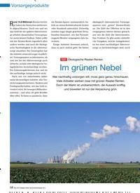 Titelbild der Ausgabe 90/2011 von TEST Ökologische Riester-Renten: Im grünen Nebel. Zeitschriften als Abo oder epaper bei United Kiosk online kaufen.
