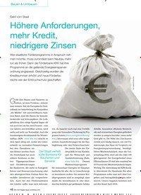 Titelbild der Ausgabe 5/2016 von Geld vom Staat: Höhere Anforderungen, mehr Kredit, niedrigere Zinsen. Zeitschriften als Abo oder epaper bei United Kiosk online kaufen.