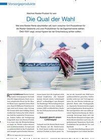 Titelbild der Ausgabe 90/2011 von Welches Riester-Produkt für wen: Die Qual der Wahl. Zeitschriften als Abo oder epaper bei United Kiosk online kaufen.
