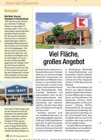 Titelbild der Ausgabe 6/2009 von Viel Fläche, großes Angebot. Zeitschriften als Abo oder epaper bei United Kiosk online kaufen.