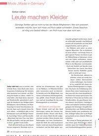 Titelbild der Ausgabe 4/2009 von Selber nähen: Leute machen Kleider. Zeitschriften als Abo oder epaper bei United Kiosk online kaufen.