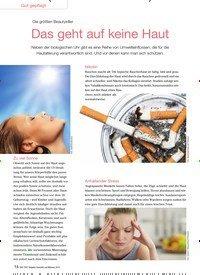 Titelbild der Ausgabe 6/2016 von Die größten Beautykiller: Das geht auf keine Haut. Zeitschriften als Abo oder epaper bei United Kiosk online kaufen.