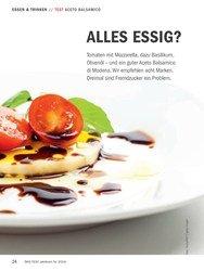 Titelbild der Ausgabe 10/2018 von TEST ACETO BALSAMICO: ALLES ESSIG?. Zeitschriften als Abo oder epaper bei United Kiosk online kaufen.