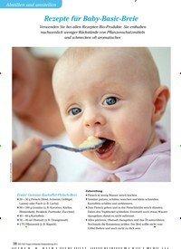 Titelbild der Ausgabe 3/2013 von Abstillen und umstellen: Rezepte für Baby-Basic-Breie. Zeitschriften als Abo oder epaper bei United Kiosk online kaufen.