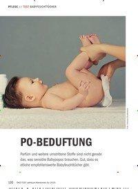 Titelbild der Ausgabe 1/2019 von TEST BABYFEUCHTTÜCHER: PO-BEDUFTUNG. Zeitschriften als Abo oder epaper bei United Kiosk online kaufen.