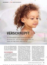 Titelbild der Ausgabe 1/2019 von TEST ERKÄLTUNGSBÄDER: VERSCHNUPFT. Zeitschriften als Abo oder epaper bei United Kiosk online kaufen.