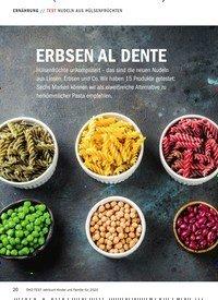 Titelbild der Ausgabe 12/2019 von TEST: ERBSEN AL DENTE. Zeitschriften als Abo oder epaper bei United Kiosk online kaufen.