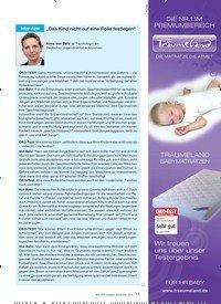 """Titelbild der Ausgabe 10/2010 von Interview: """"Das Kind nicht auf eine Rolle festlegen"""". Zeitschriften als Abo oder epaper bei United Kiosk online kaufen."""