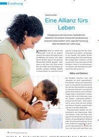 Titelbild der Ausgabe 10/2010 von Geschwister: Eine Allianz fürs Leben. Zeitschriften als Abo oder epaper bei United Kiosk online kaufen.