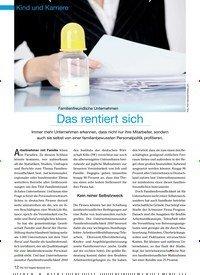 Titelbild der Ausgabe 9/2012 von Familienfreundliche Unternehmen: Das rentiert sich. Zeitschriften als Abo oder epaper bei United Kiosk online kaufen.