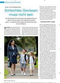 Titelbild der Ausgabe 9/2012 von Kinder und berufstätige Eltern: Schlechtes Gewissen muss nicht sein. Zeitschriften als Abo oder epaper bei United Kiosk online kaufen.