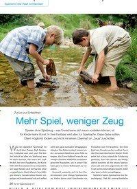 Titelbild der Ausgabe 9/2015 von Zurück zur Einfachheit: Mehr Spiel, weniger Zeug. Zeitschriften als Abo oder epaper bei United Kiosk online kaufen.