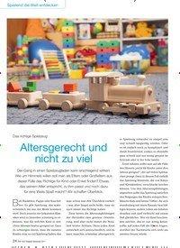 Titelbild der Ausgabe 9/2017 von Das richtige Spielzeug: Altersgerecht und nicht zu viel. Zeitschriften als Abo oder epaper bei United Kiosk online kaufen.