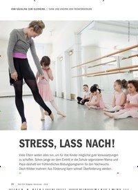 Titelbild der Ausgabe 9/2018 von SINN UND UNSINN VON FRÜHFÖRDERUNG: STRESS, LASS NACH!. Zeitschriften als Abo oder epaper bei United Kiosk online kaufen.