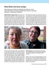 Titelbild der Ausgabe 11/2008 von Meine Mutter wird immer weniger. Zeitschriften als Abo oder epaper bei United Kiosk online kaufen.