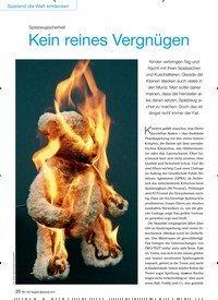 Titelbild der Ausgabe 9/2015 von Spielzeugsicherheit: Kein reines Vergnügen. Zeitschriften als Abo oder epaper bei United Kiosk online kaufen.