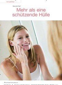 Titelbild der Ausgabe 6/2016 von Gesunde Haut: Mehr als eine schützende Hülle. Zeitschriften als Abo oder epaper bei United Kiosk online kaufen.