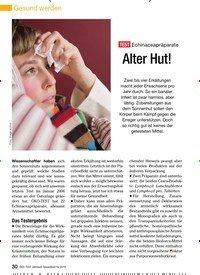Titelbild der Ausgabe 11/2009 von TEST Echinaceapräparate: Alter Hut!. Zeitschriften als Abo oder epaper bei United Kiosk online kaufen.