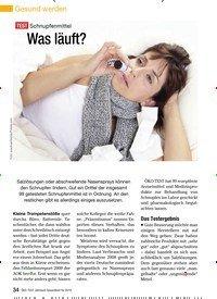 Titelbild der Ausgabe 11/2009 von TEST Schnupfenmittel: Was läuft?. Zeitschriften als Abo oder epaper bei United Kiosk online kaufen.