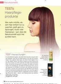 Titelbild der Ausgabe 13/2010 von TESTs Haarpflegeprodukte. Zeitschriften als Abo oder epaper bei United Kiosk online kaufen.