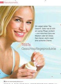 Titelbild der Ausgabe 13/2010 von TESTs Gesichtspflegeprodukte. Zeitschriften als Abo oder epaper bei United Kiosk online kaufen.