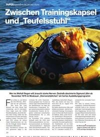 """Titelbild der Ausgabe 1/2018 von Zwischen Trainingskapsel und """"Teufelsstuhl"""". Zeitschriften als Abo oder epaper bei United Kiosk online kaufen."""