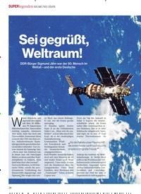 Titelbild der Ausgabe 1/2018 von Sei gegrüßt, Weltraum!. Zeitschriften als Abo oder epaper bei United Kiosk online kaufen.