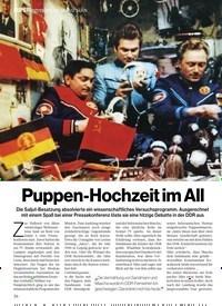 Titelbild der Ausgabe 1/2018 von Puppen-Hochzeit im All. Zeitschriften als Abo oder epaper bei United Kiosk online kaufen.