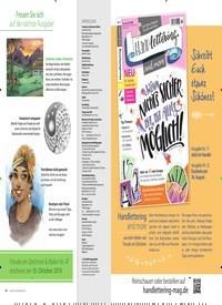 Titelbild der Ausgabe 46/2019 von Sommerschnee. Zeitschriften als Abo oder epaper bei United Kiosk online kaufen.