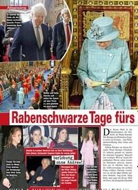 Titelbild der Ausgabe 1/2020 von Abgesang: Rabenschwarze Tage fürs britische Königshaus!. Zeitschriften als Abo oder epaper bei United Kiosk online kaufen.