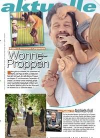 Titelbild der Ausgabe 5/2020 von aktuelle Woche: Wonne- Proppen. Zeitschriften als Abo oder epaper bei United Kiosk online kaufen.