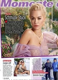 Titelbild der Ausgabe 5/2020 von Momente der Woche: Rita Ora: Schmuck-Stück. Zeitschriften als Abo oder epaper bei United Kiosk online kaufen.
