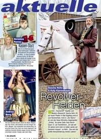 Titelbild der Ausgabe 12/2020 von aktuelle Woche. Zeitschriften als Abo oder epaper bei United Kiosk online kaufen.