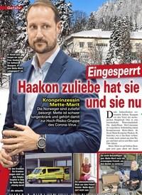 Titelbild der Ausgabe 13/2020 von Gefahr: Eingesperrt im Palast !: Haakon zuliebe hat sie eingewilligt - und sie nu nutzt die Zeit!. Zeitschriften als Abo oder epaper bei United Kiosk online kaufen.