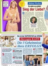 Titelbild der Ausgabe 2/2020 von Helene Fischer: Es wäre so schön!: Sieg der Liebe?. Zeitschriften als Abo oder epaper bei United Kiosk online kaufen.